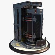 Sci Fi Biohazard Container 2 modelo 3d