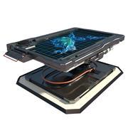 Sci-Fi-Tabelle 2 3d model
