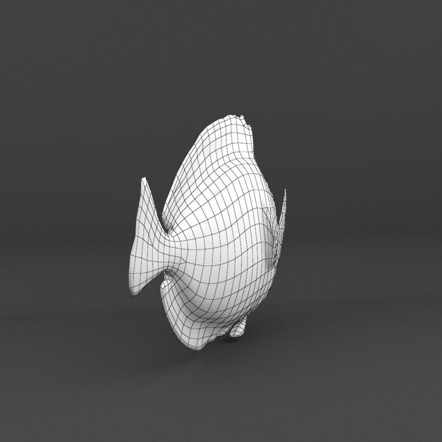 koraalrif en vissen royalty-free 3d model - Preview no. 43