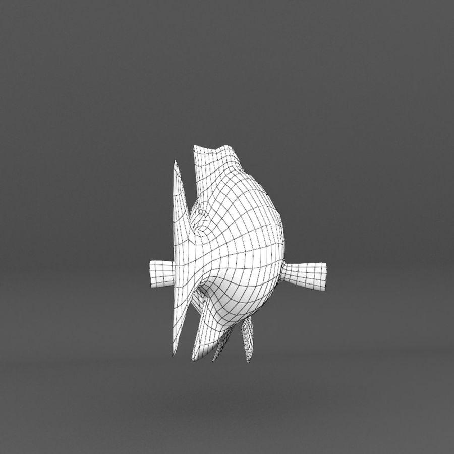 koraalrif en vissen royalty-free 3d model - Preview no. 101