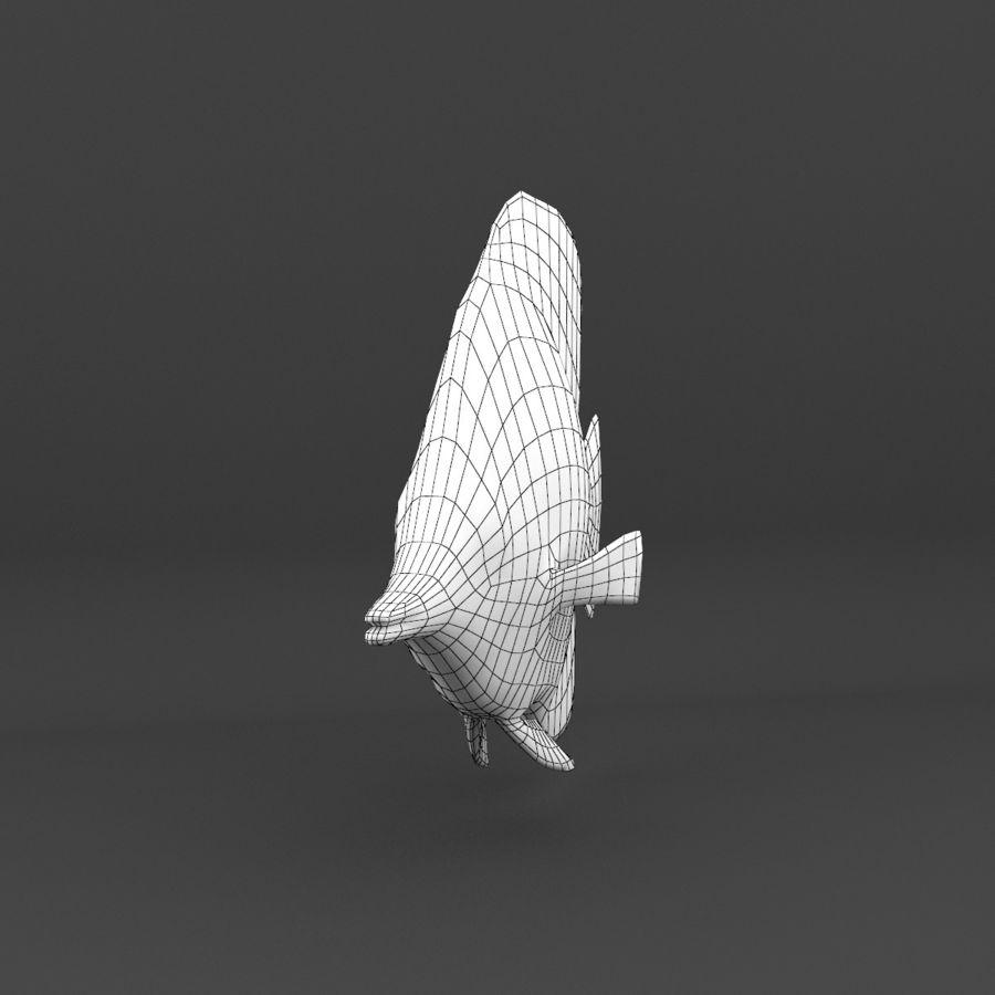 koraalrif en vissen royalty-free 3d model - Preview no. 96