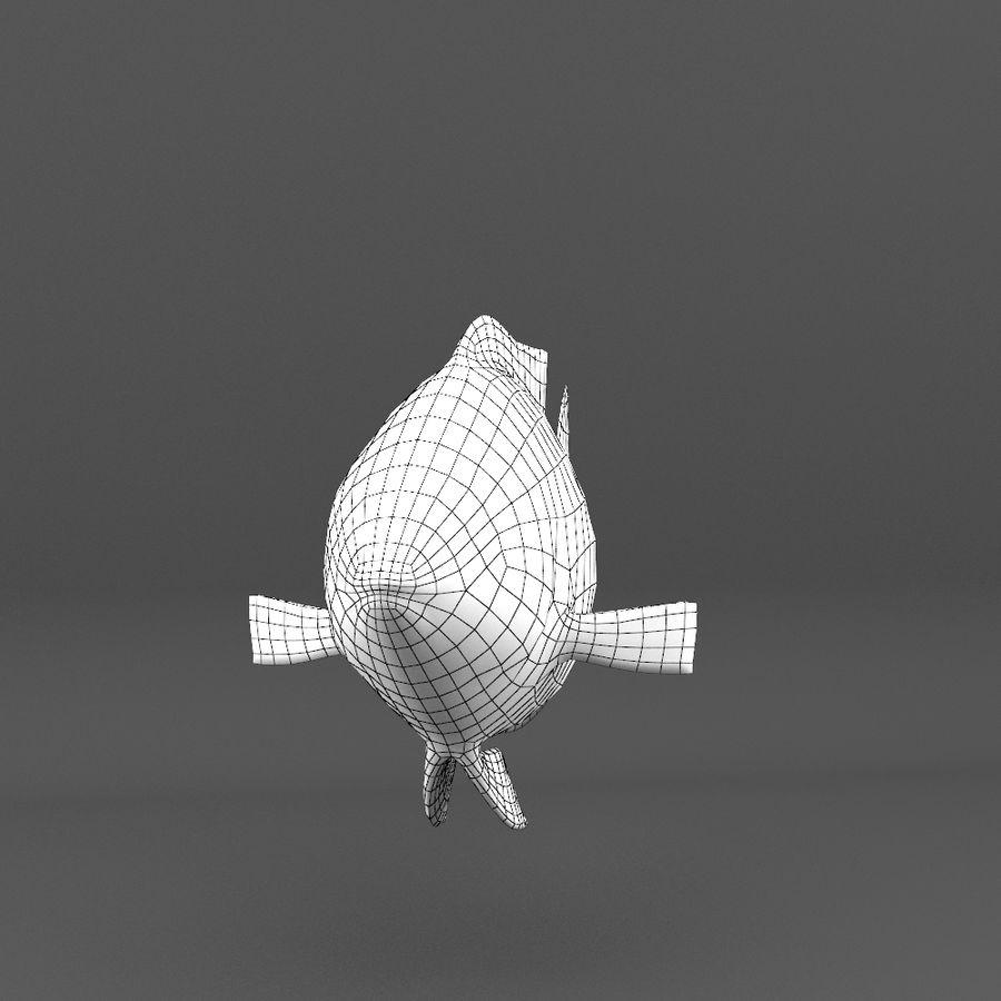 koraalrif en vissen royalty-free 3d model - Preview no. 106