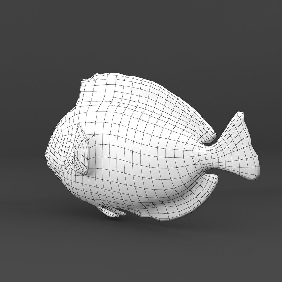 koraalrif en vissen royalty-free 3d model - Preview no. 49