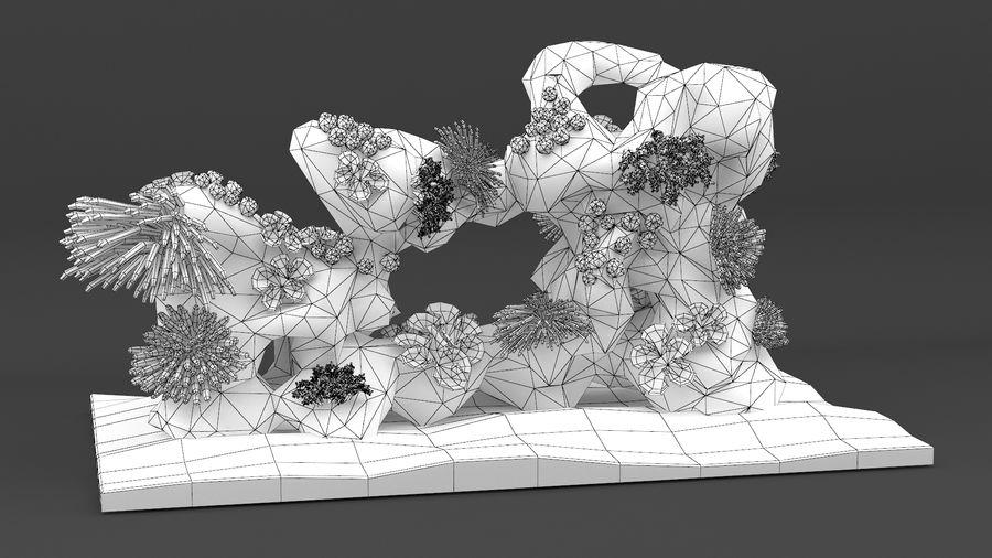 koraalrif en vissen royalty-free 3d model - Preview no. 15