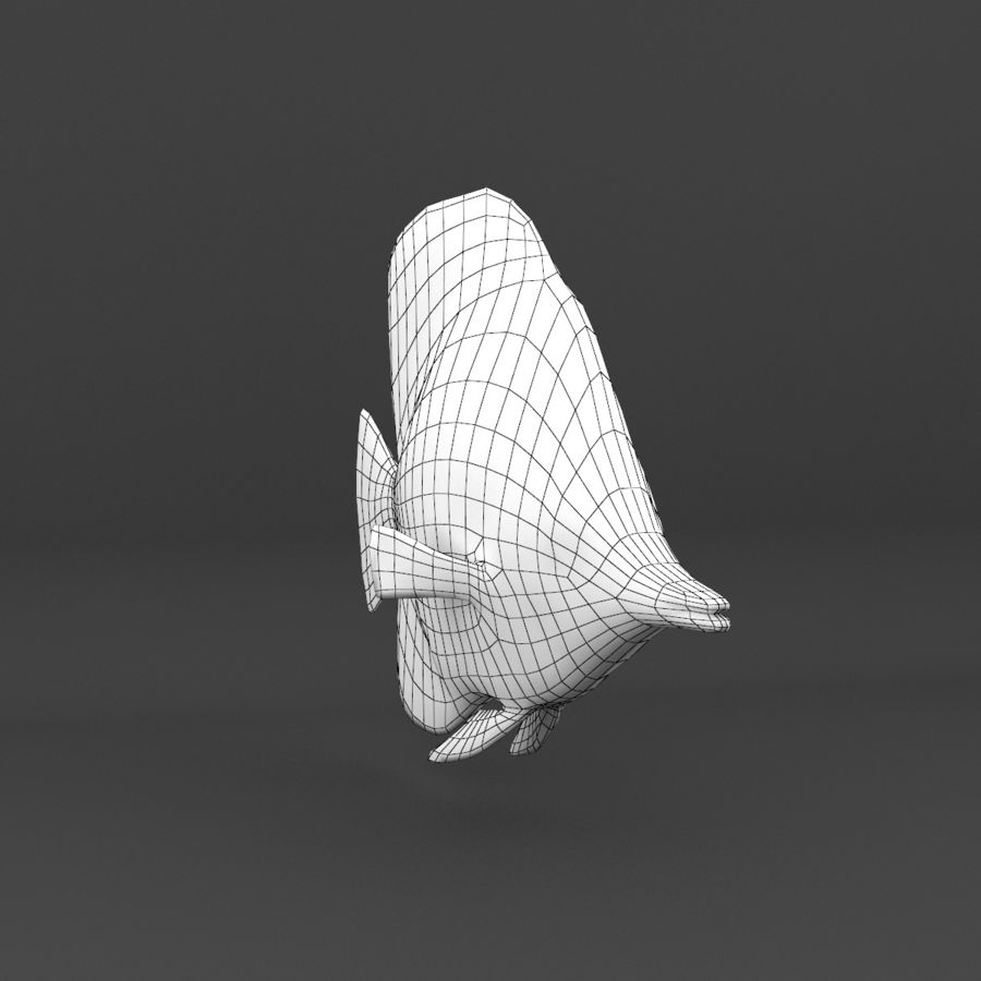 koraalrif en vissen royalty-free 3d model - Preview no. 98
