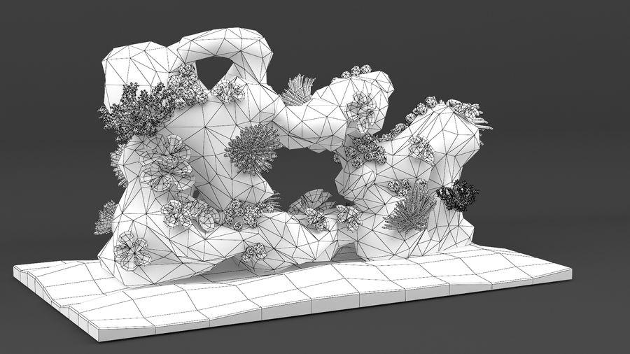 koraalrif en vissen royalty-free 3d model - Preview no. 26