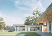 Casa de residencia modelo 3d