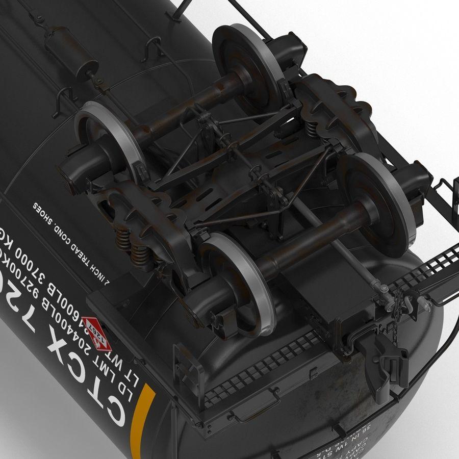 Vagão tanque royalty-free 3d model - Preview no. 30