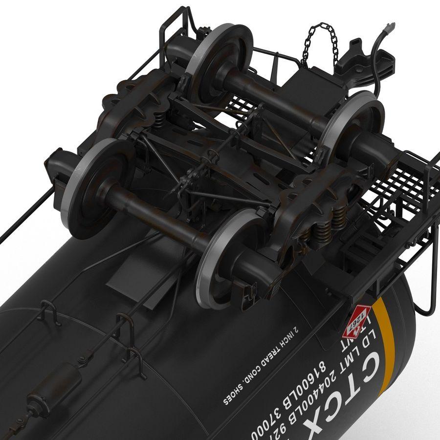 Vagão tanque royalty-free 3d model - Preview no. 33