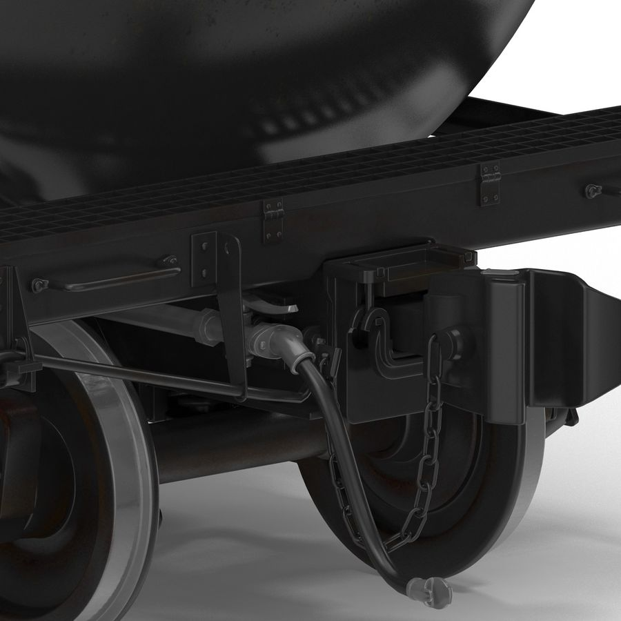 Vagão tanque royalty-free 3d model - Preview no. 25