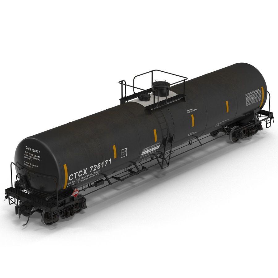 Vagão tanque royalty-free 3d model - Preview no. 8