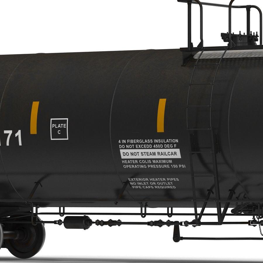 Vagão tanque royalty-free 3d model - Preview no. 21