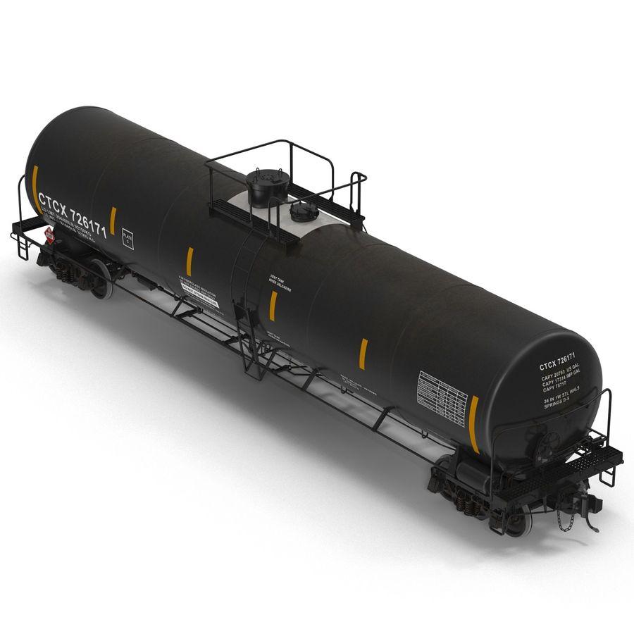 Vagão tanque royalty-free 3d model - Preview no. 9