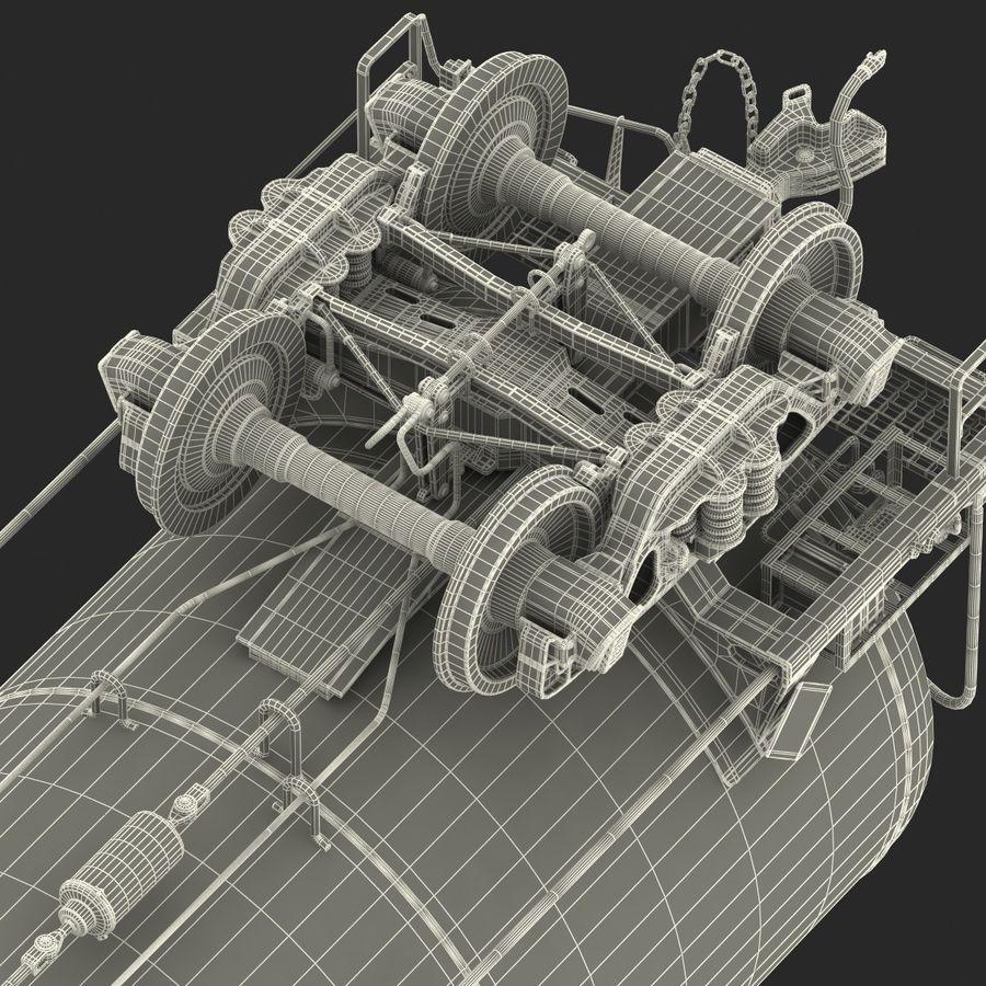 Vagão tanque royalty-free 3d model - Preview no. 62