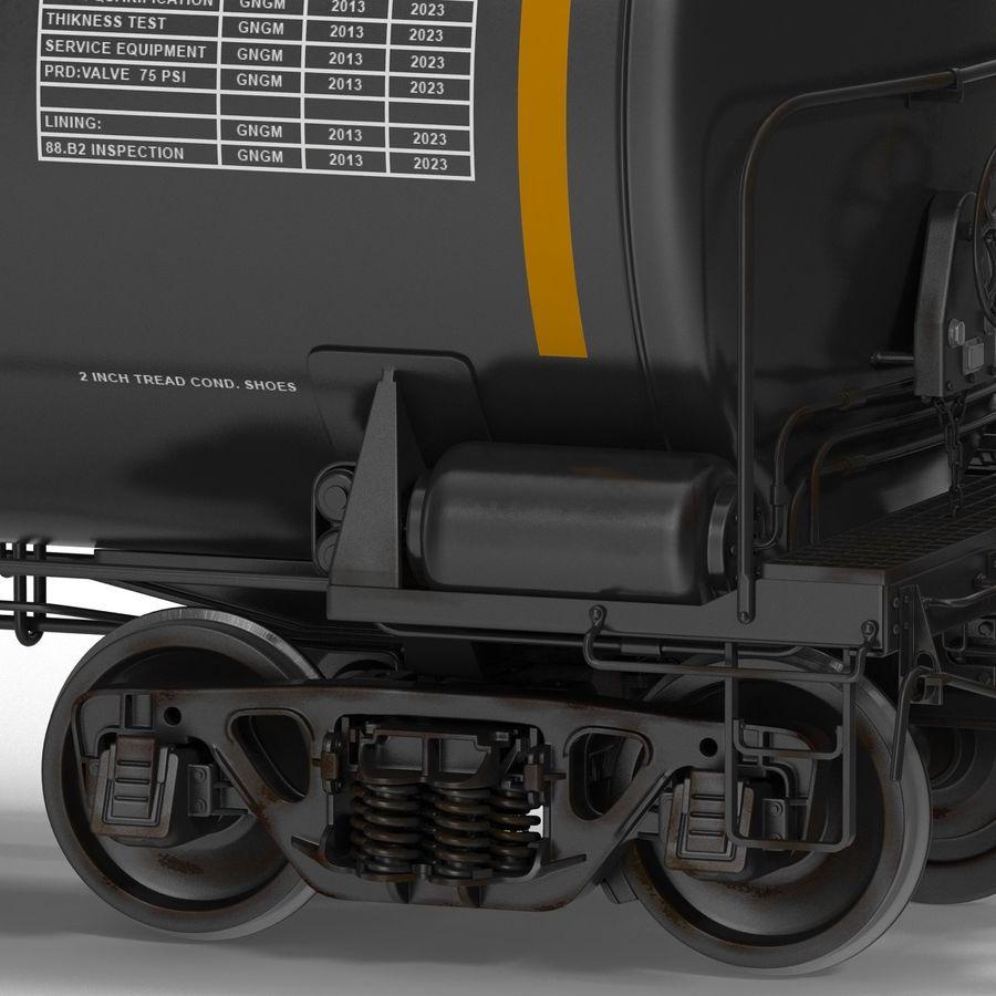 Vagão tanque royalty-free 3d model - Preview no. 17