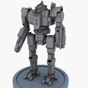 Robot Concept A 3d model