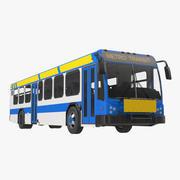 Автобус Метро Транзит 3d model