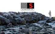 Brise-lames en pierre 8K HD 3d model