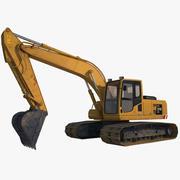 Escavador 3d model