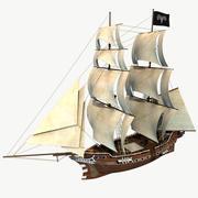 Altes Segelschiff 3d model