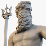 Бог моря Посейдон 3d model