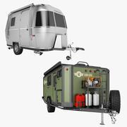 冒险拖车系列02 3d model