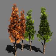 Tree Pack 1 [BlackGum] 3d model