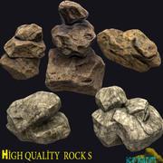 Rock_Pack 3d model