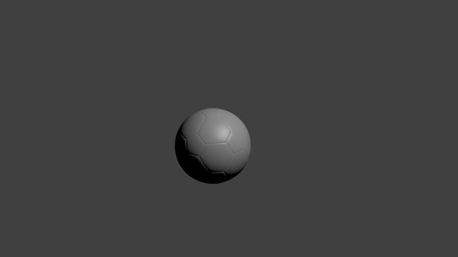 SoccerBall - Low Poly royalty-free 3d model - Preview no. 1