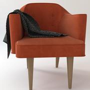 악센트 의자 3d model