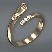 Słodki pierścień 3d model