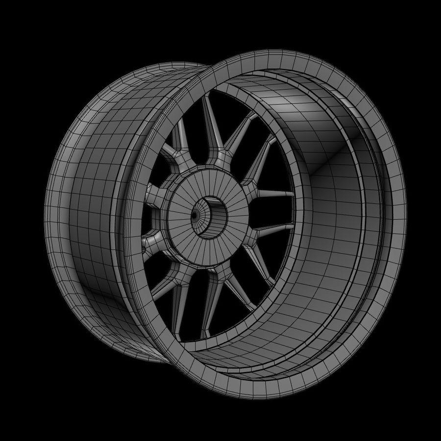 Wheels - Rim - APEX royalty-free 3d model - Preview no. 12