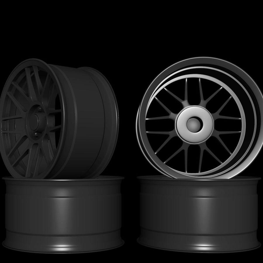 Wheels - Rim - APEX royalty-free 3d model - Preview no. 2