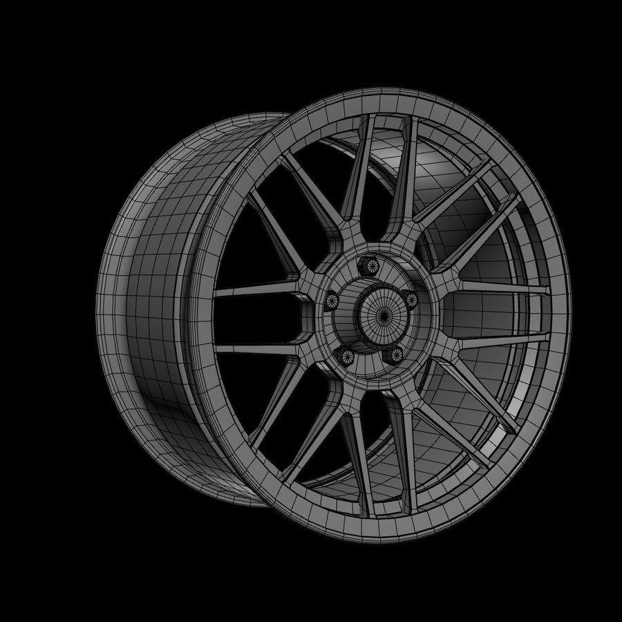 Wheels - Rim - APEX royalty-free 3d model - Preview no. 10