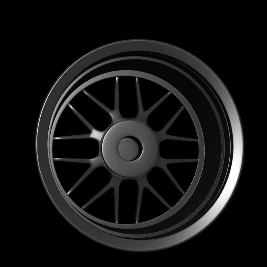 Wheels - Rim - APEX royalty-free 3d model - Preview no. 7