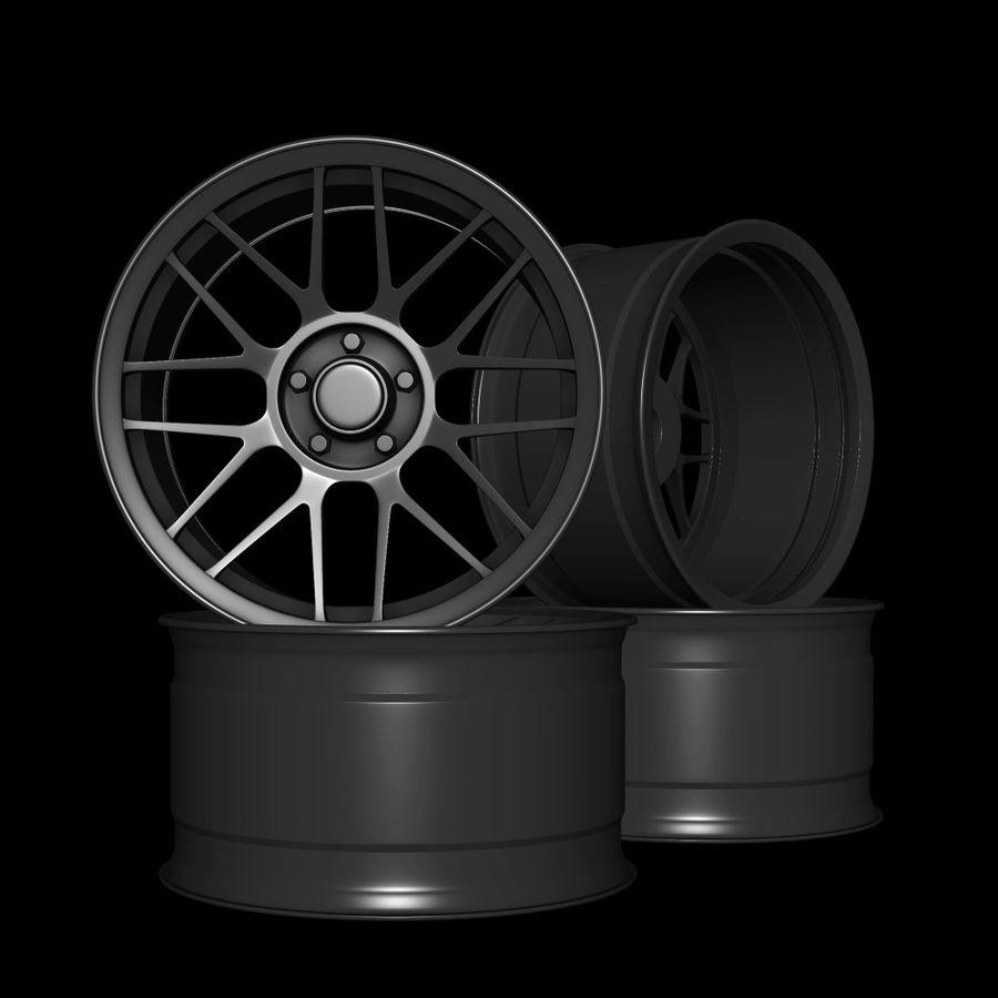Wheels - Rim - APEX royalty-free 3d model - Preview no. 1