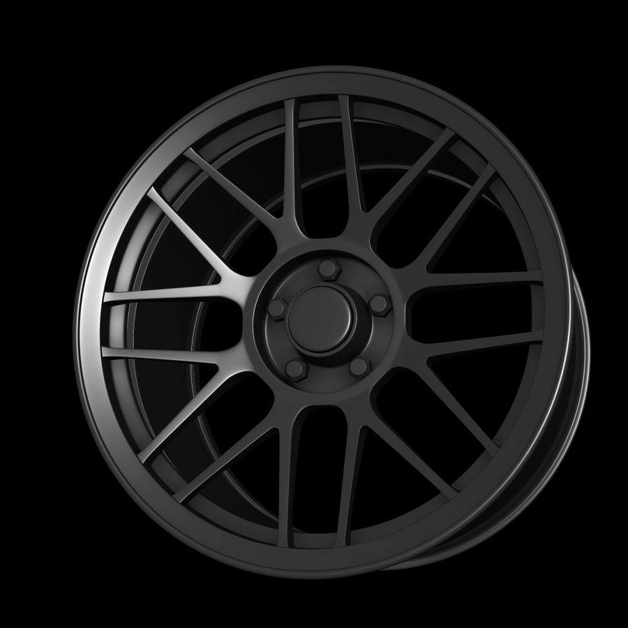 Wheels - Rim - APEX royalty-free 3d model - Preview no. 5