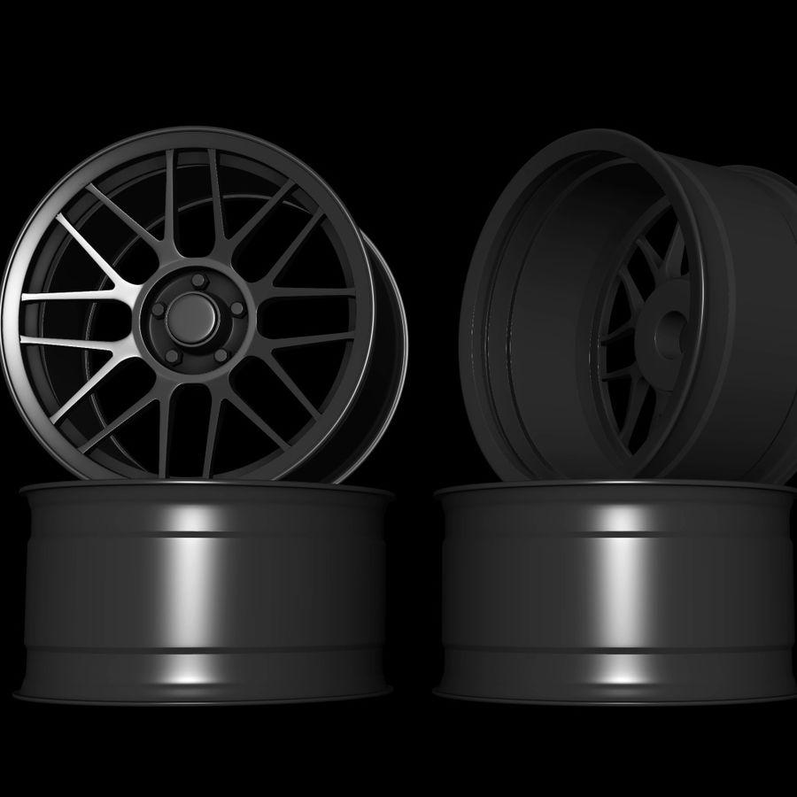 Wheels - Rim - APEX royalty-free 3d model - Preview no. 4