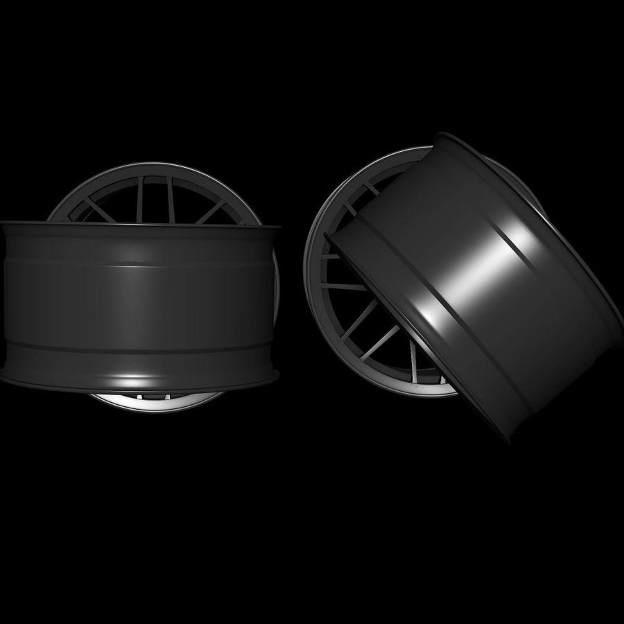 Wheels - Rim - APEX royalty-free 3d model - Preview no. 3