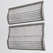 Roman curtains 3d model