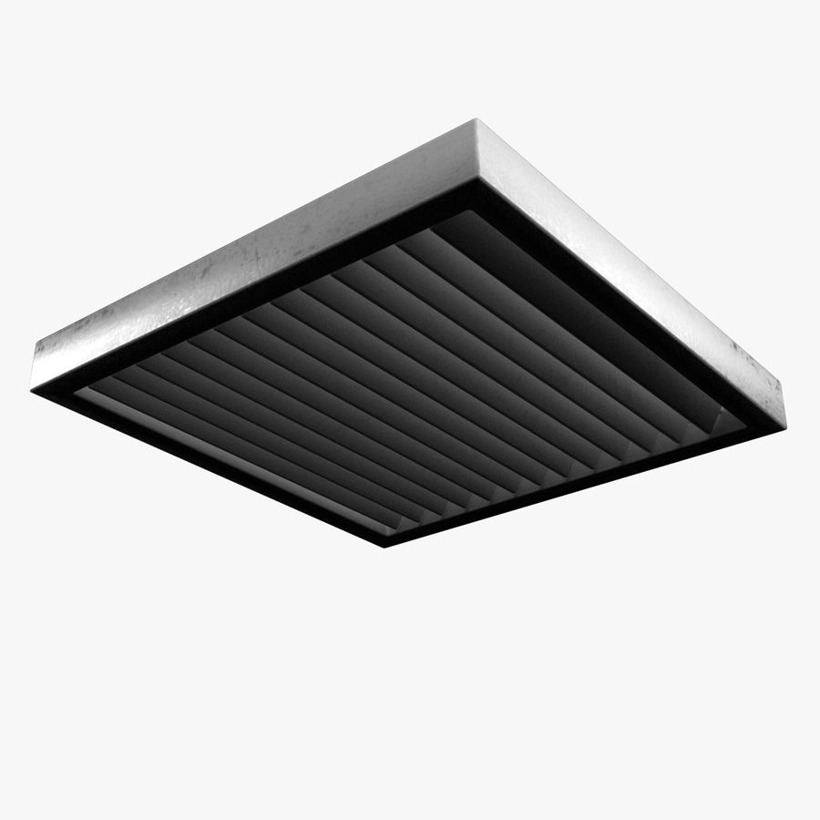 Air Vent royalty-free 3d model - Preview no. 4