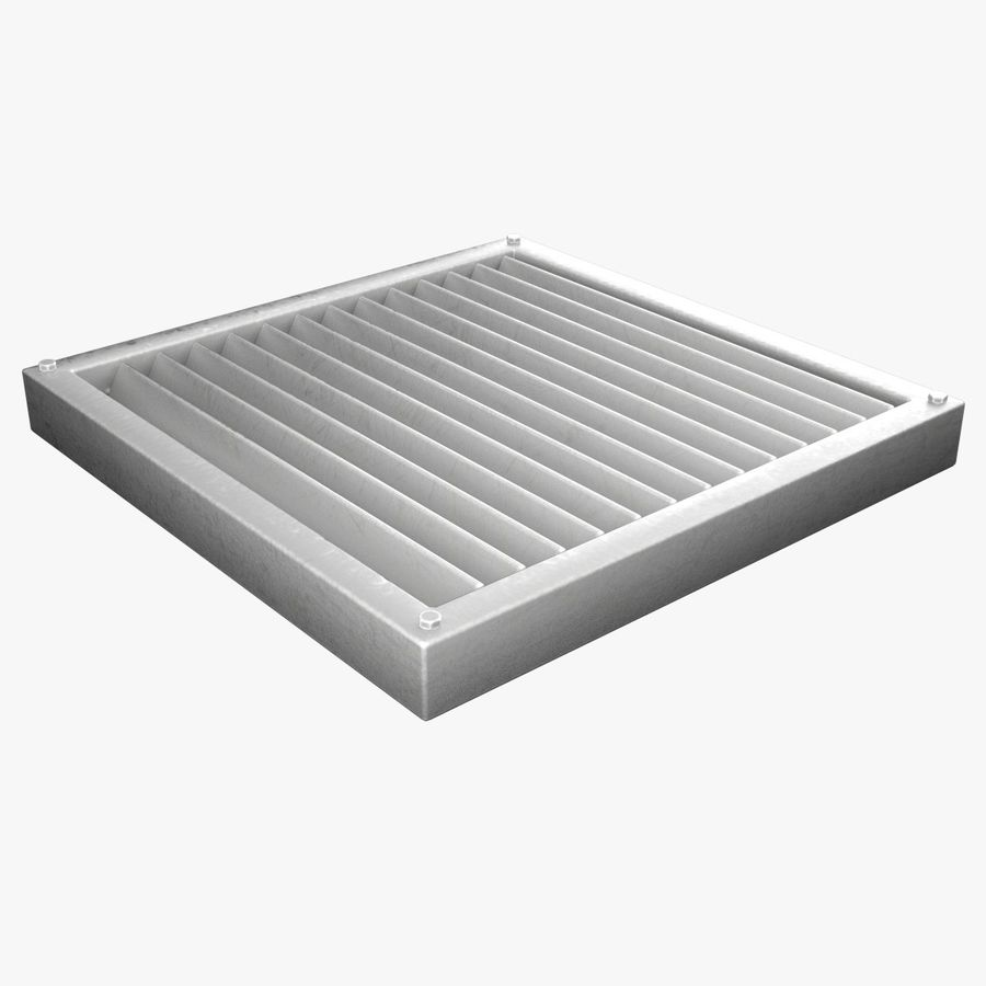 Air Vent royalty-free 3d model - Preview no. 1