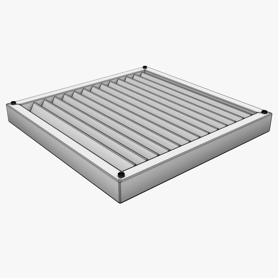 Air Vent royalty-free 3d model - Preview no. 5