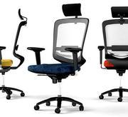 Cygnus Chair, sedia modellata in Rhinoceros basata su un vero livello esecutivo di sedia da ufficio 3d model