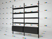 Bookcase Brompton Boffi 3d model