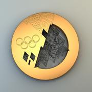 Medalha olímpica 3d model
