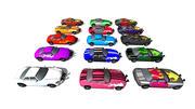 Sport Cars 3d model