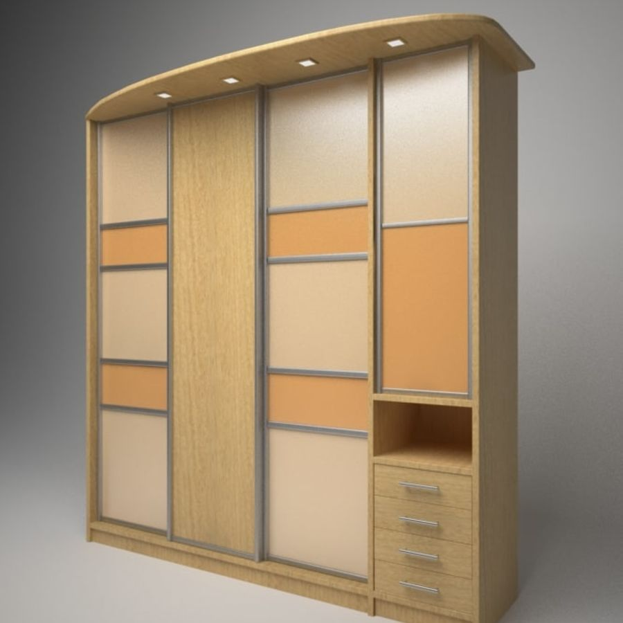 Armoire royalty-free 3d model - Preview no. 1