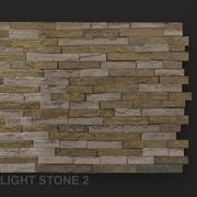 Светлый камень 3d model