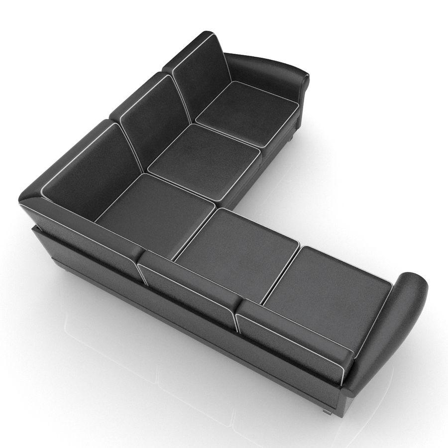 Soffa 03 5 royalty-free 3d model - Preview no. 4
